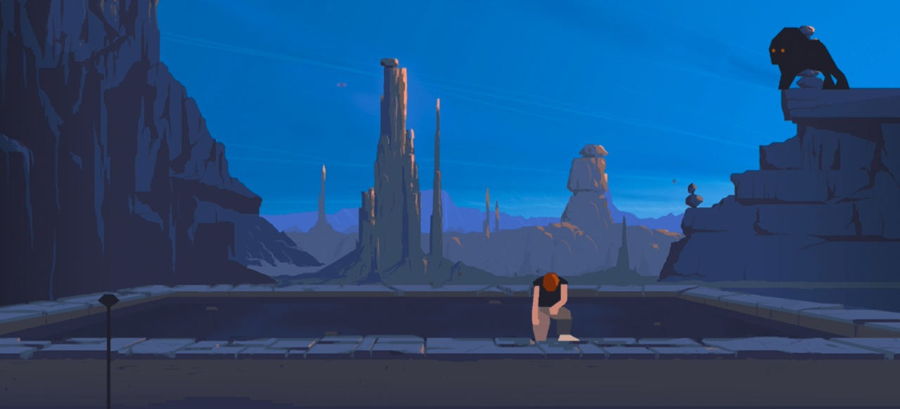 Another World (Plattformer) von Dotemu