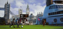 Street Power Football: Straßenfußballer dribbeln sich warm