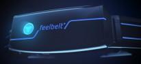 Feelbelt: Kickstarter-Kampagne für Audio-Gadget mit Impulsgebern gestartet