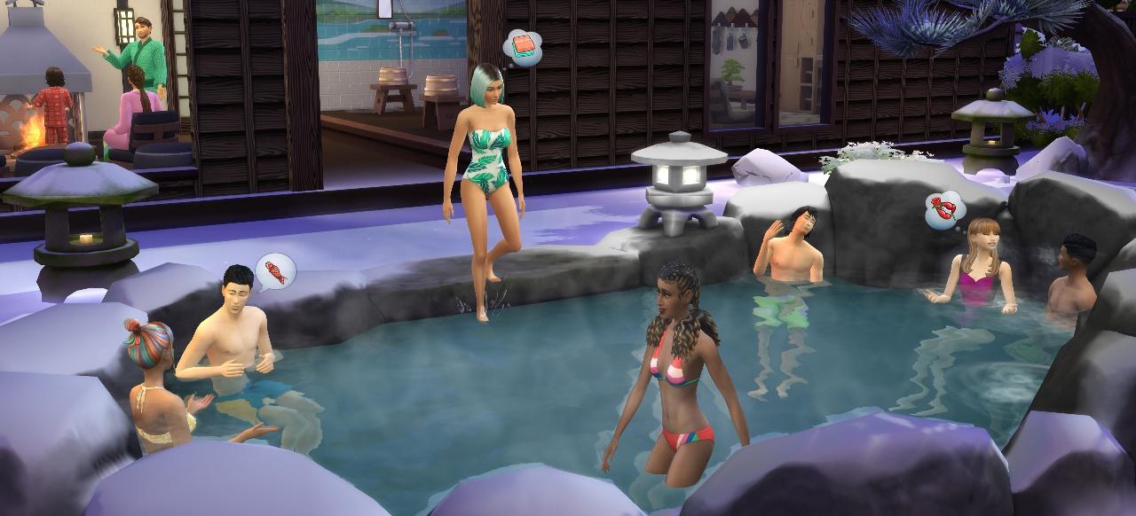 Die Sims 4 Ab ins Schneeparadies (Simulation) von Electronic Arts