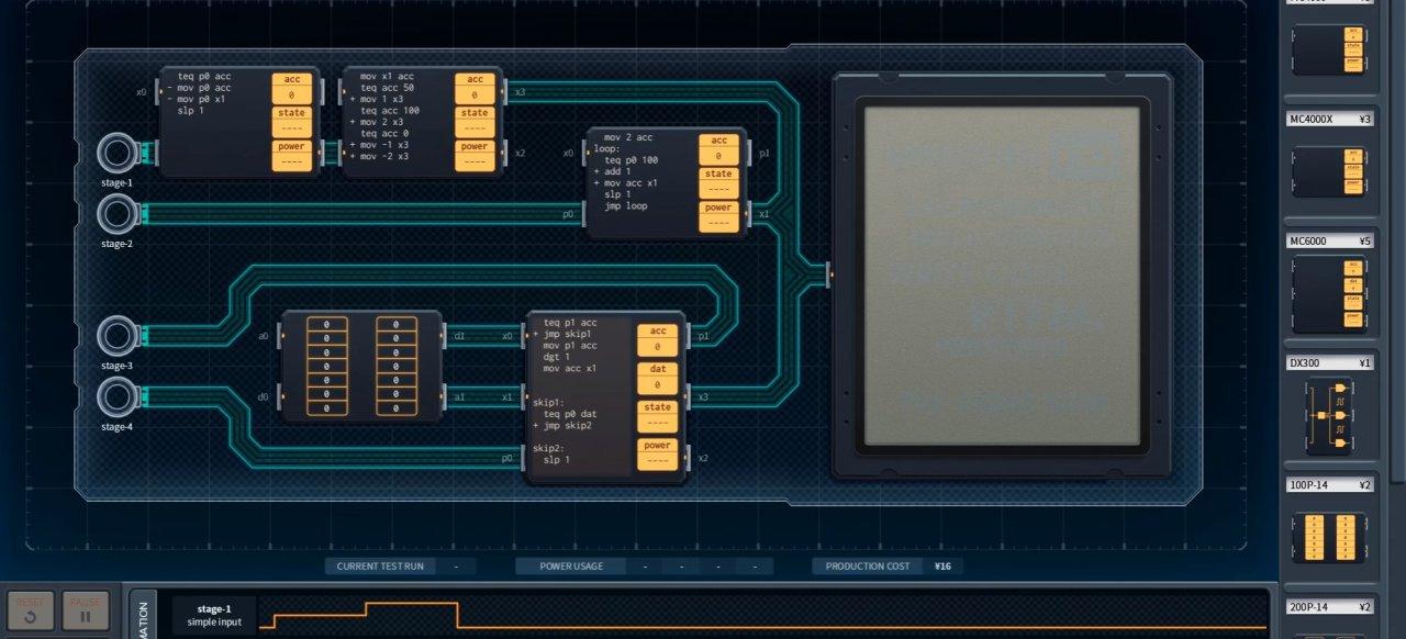 Shenzhen I/O (Logik & Kreativität) von Zachtronics