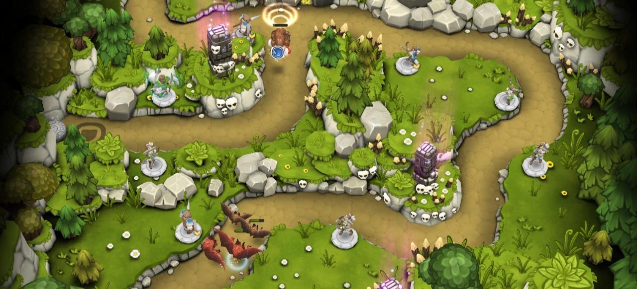 Warstone TD (Taktik & Strategie) von Battlecruiser Games