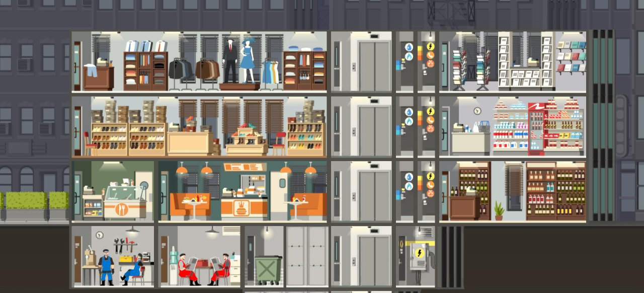 Project Highrise (Strategie) von Kasedo Games / Kalypso Media