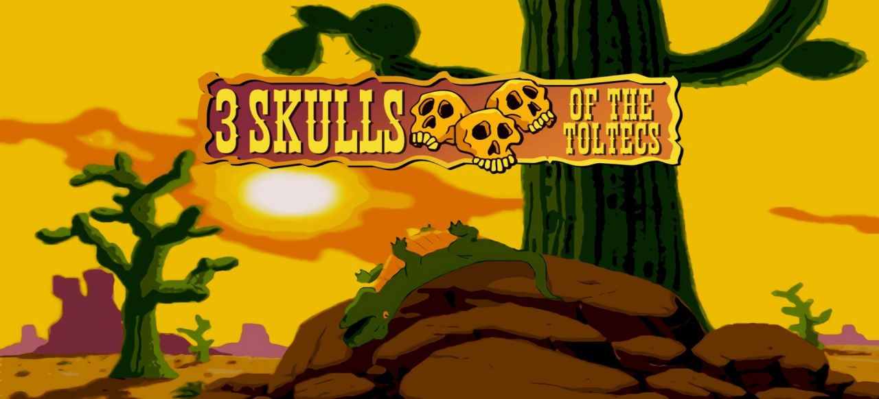 Fenimore Fillmore: 3 Skulls of the Toltecs (Remaster) (Adventure) von Casual Brothers