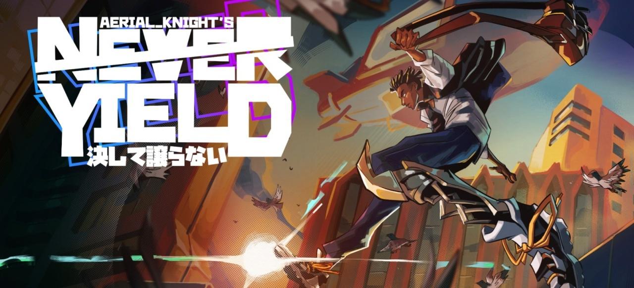 Aerial_Knight's Never Yield (Plattformer) von Headup Games