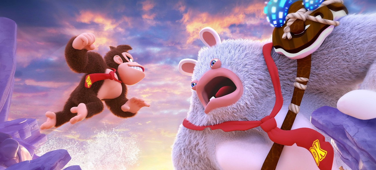 Mario + Rabbids Kingdom Battle - Donkey Kong Adventure (Strategie) von Ubisoft