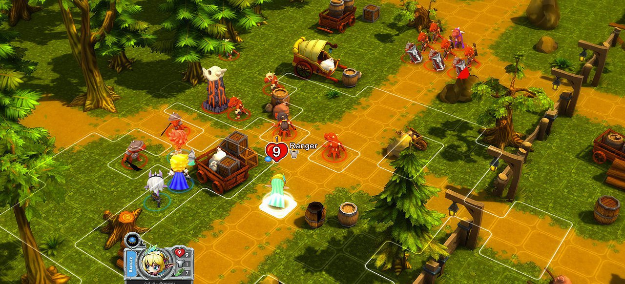 Super Dungeon Tactics (Strategie) von Underbite Games