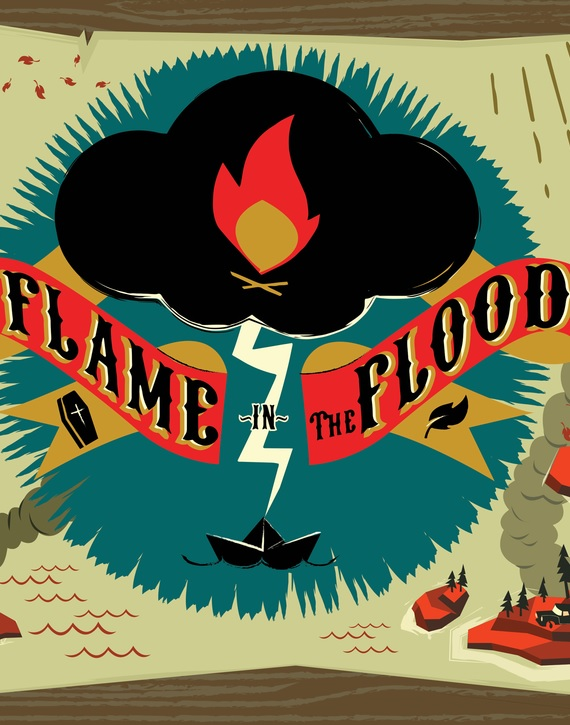 Alle Infos zu The Flame in the Flood (PC,XboxOne)