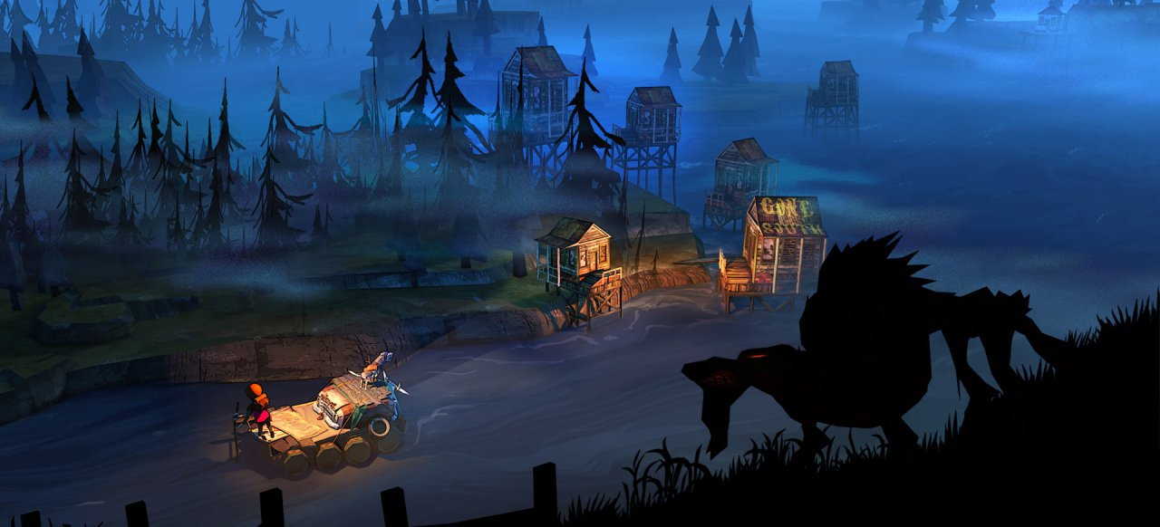 The Flame in the Flood (Simulation) von The Molasses Flood / Curve Digital