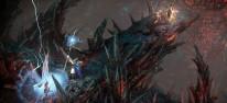 Warhammer: Chaosbane: Hochelfen-Magier Elontir zeigt seine Fernkampfzauber
