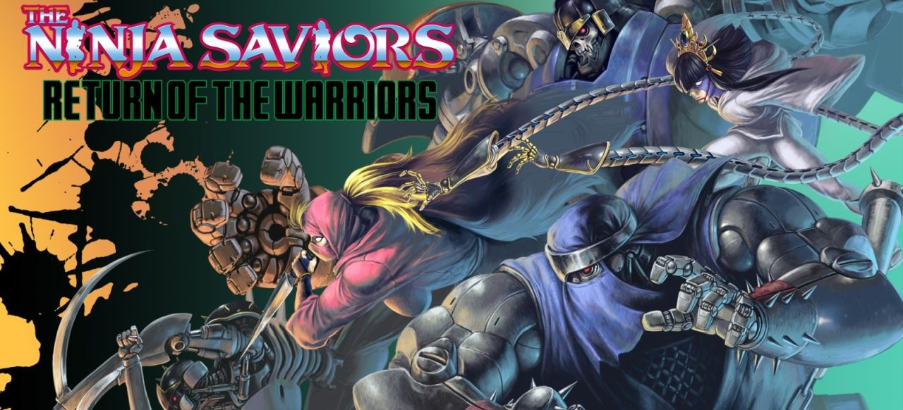 The Ninja Saviors: Return of the Warriors (Arcade-Action) von ININ Games