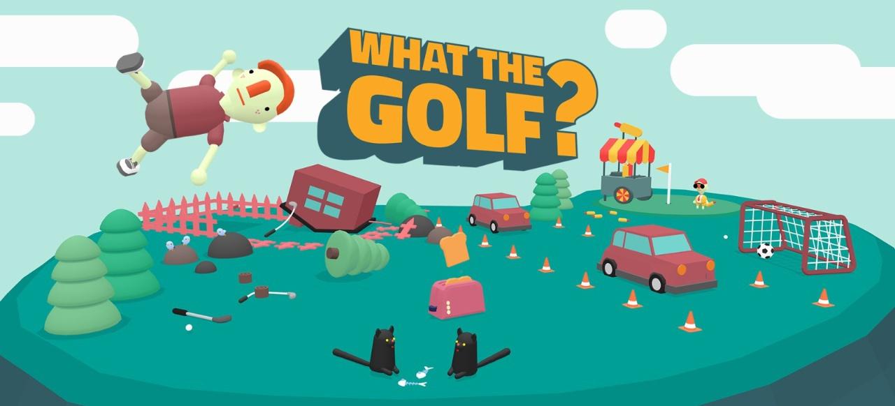 Achtung, dies ist kein Golfspiel!