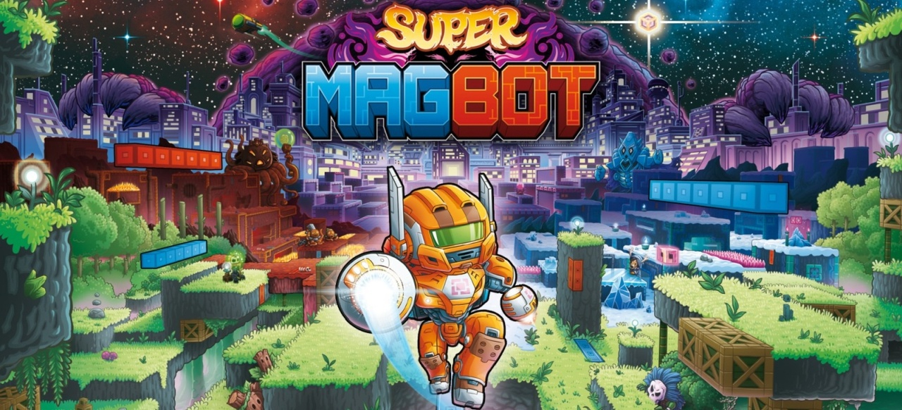 Super Magbot (Plattformer) von Team17