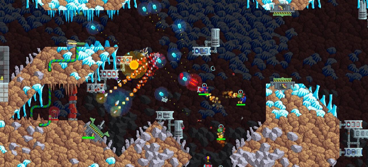 Captain Kaon (Arcade-Action) von Engage Pixel / James Buckle