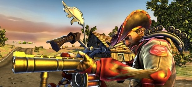 Ride to Hell: Route 666 (Arcade-Action) von Deep Silver
