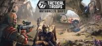Tactical Troops: Anthracite Shift: Rundenbasierte Sci-Fi-Strategie mit Teleporationstechnologie