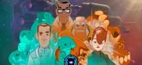 Professor Lupo and his Horrible Pets: Sci-Fi-Abenteuer der Nihilumbra-Macher erscheint im Sommer für PC und Switch