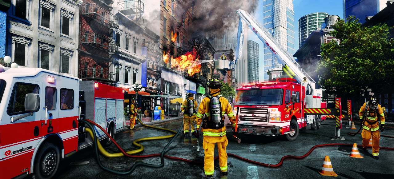 Firefighting Simulator - The Squad (Simulation) von astragon Entertainment