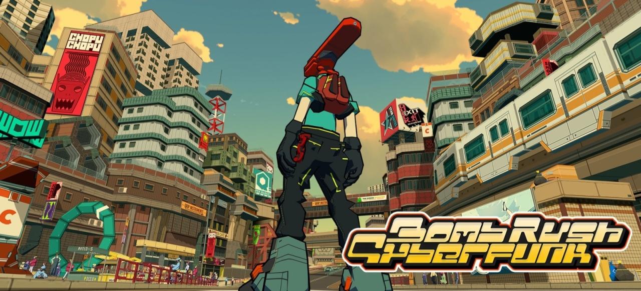 Bomb Rush Cyberfunk (Action-Adventure) von Team Reptile