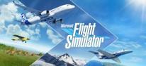 Microsoft Flight Simulator: Navigationsdaten, Instrumentenflug und Flugverkehrskontrolle