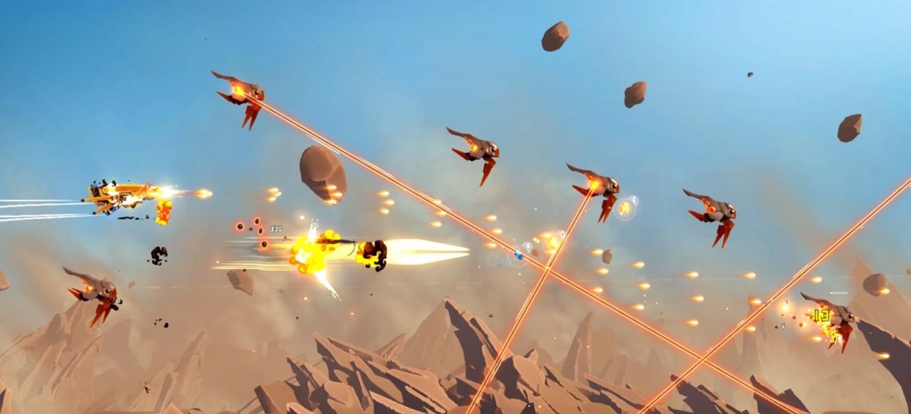 Drifting Lands (Arcade-Action) von Alkemi