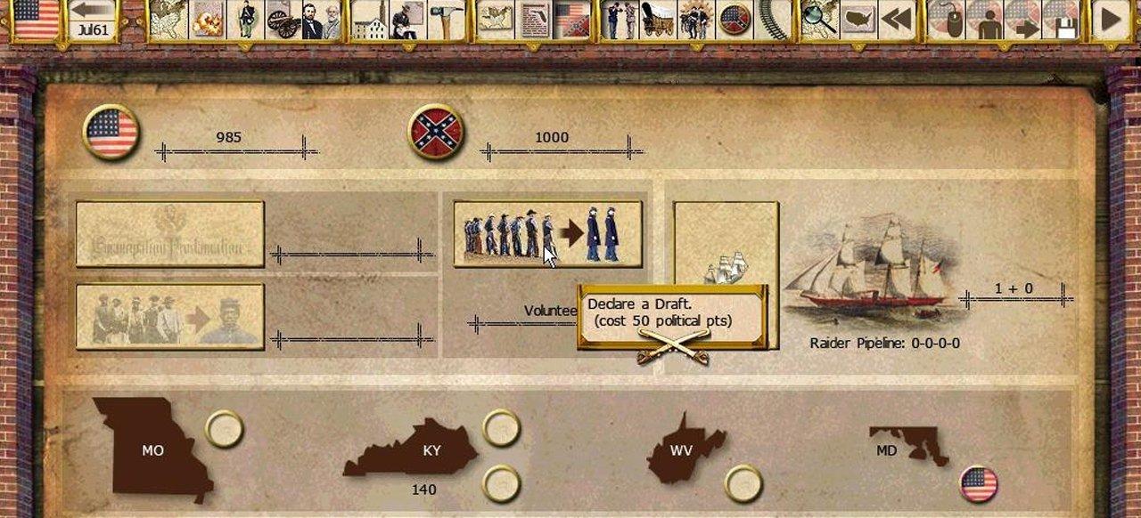 Gary Grigsby's War Between the States (Strategie) von Matrix Games