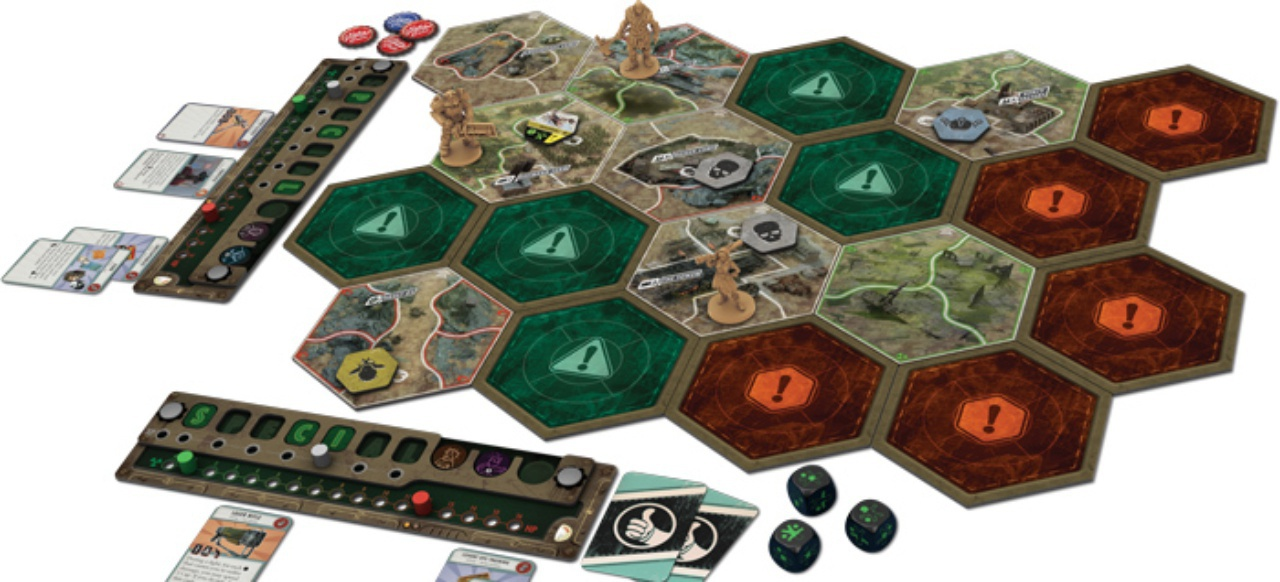 Fallout: The Board Game (Brettspiel) von Asmodee