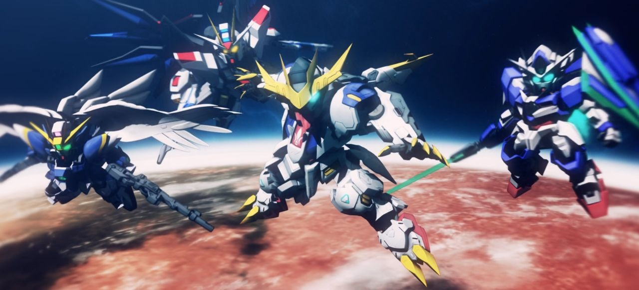 SD Gundam G Generation Cross Rays (Taktik & Strategie) von Bandai Namco Entertainment
