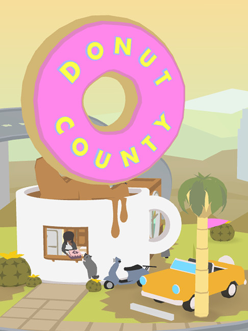 Alle Infos zu Donut County (Android,iPad,iPhone,Mac,PC,PlayStation4,Switch,XboxOne)