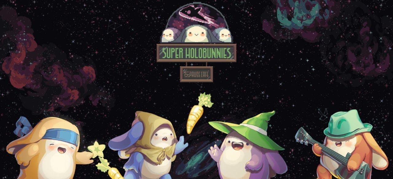 Super Holobunnies: Pause Café (Plattformer) von Nkidu Games