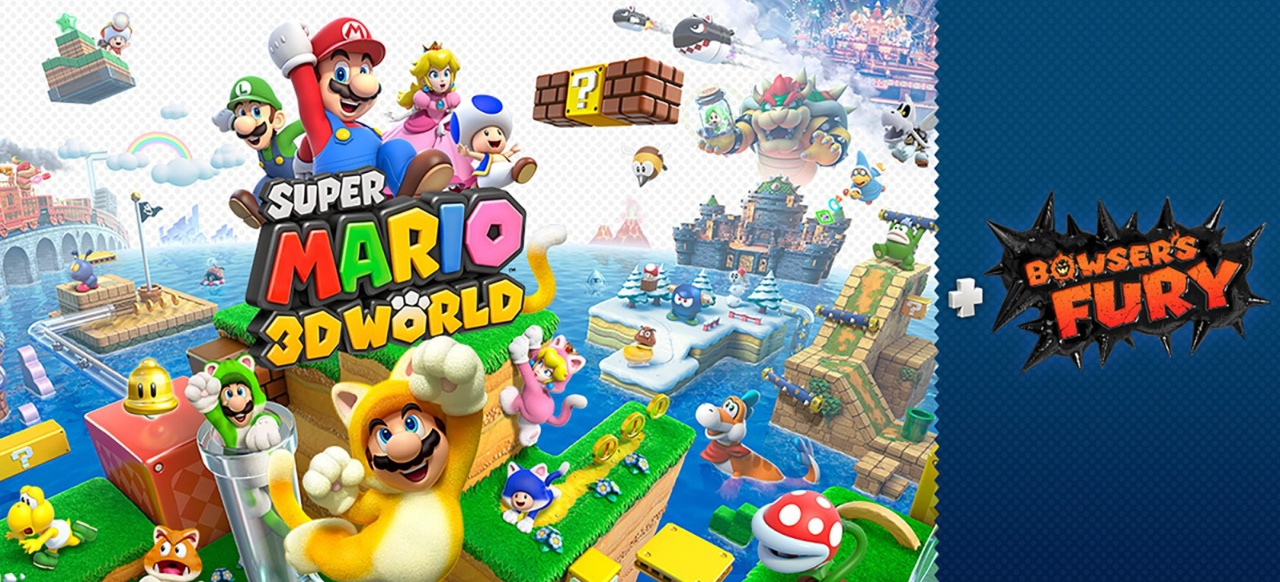 Super Mario 3D World + Bowser's Fury (Plattformer) von Nintendo