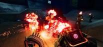 Turbo Overkill: Brachialer Cyberpunk-Shooter für PC im Anmarsch