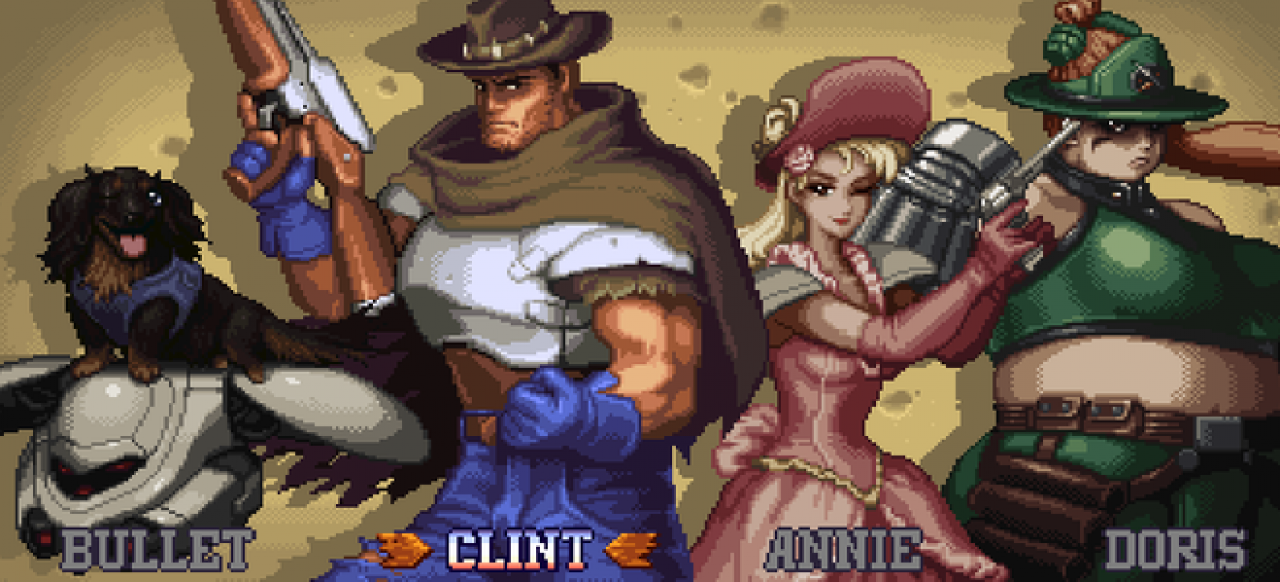Wild Guns Reloaded (Arcade-Action) von