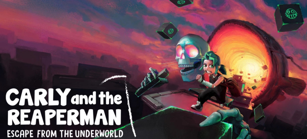 Carly and the Reaperman (Adventure) von Odd Raven Studios/Resolution Games