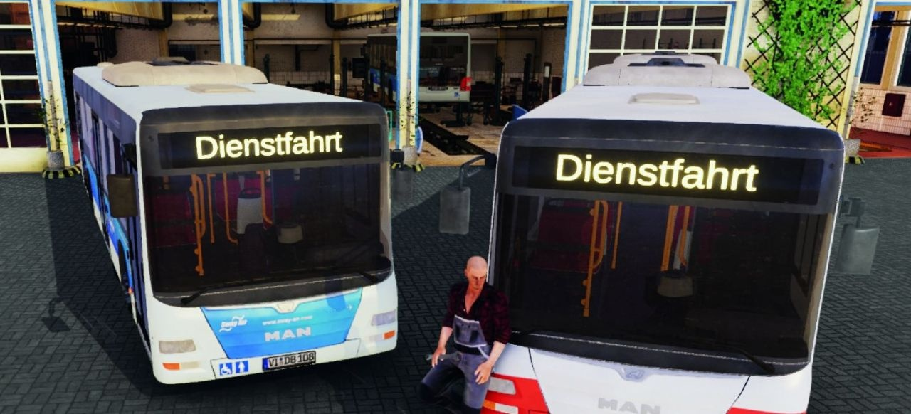 Bus Mechanic Simulator (Simulation) von Aerosoft