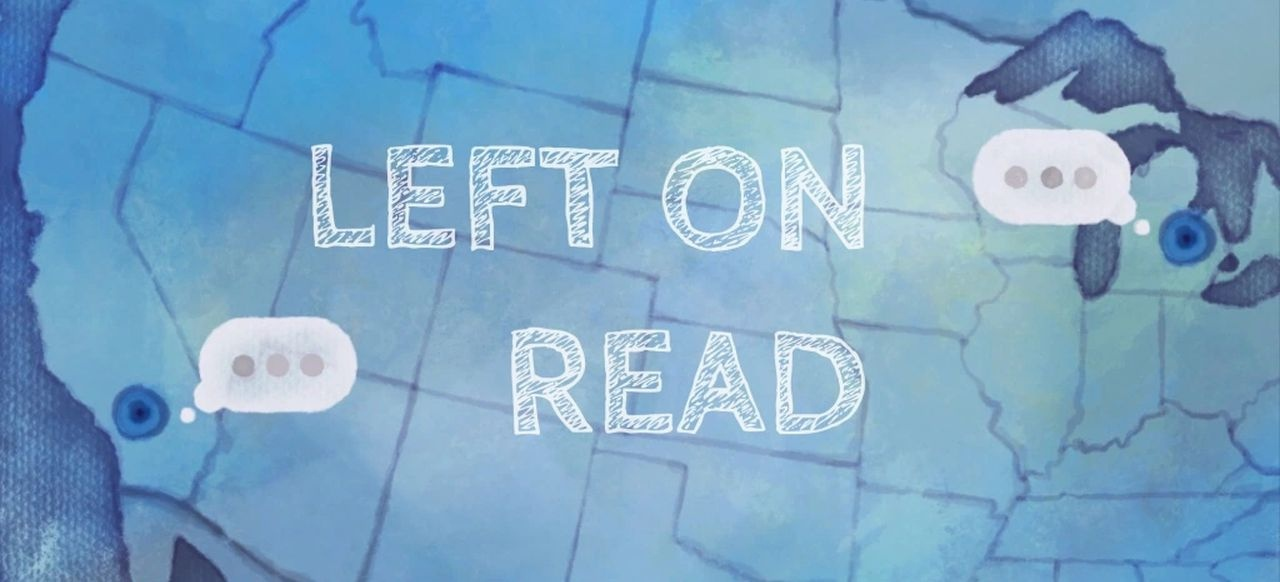 Left on Read (Plattformer) von Spookulele Games / Silver Side Studios