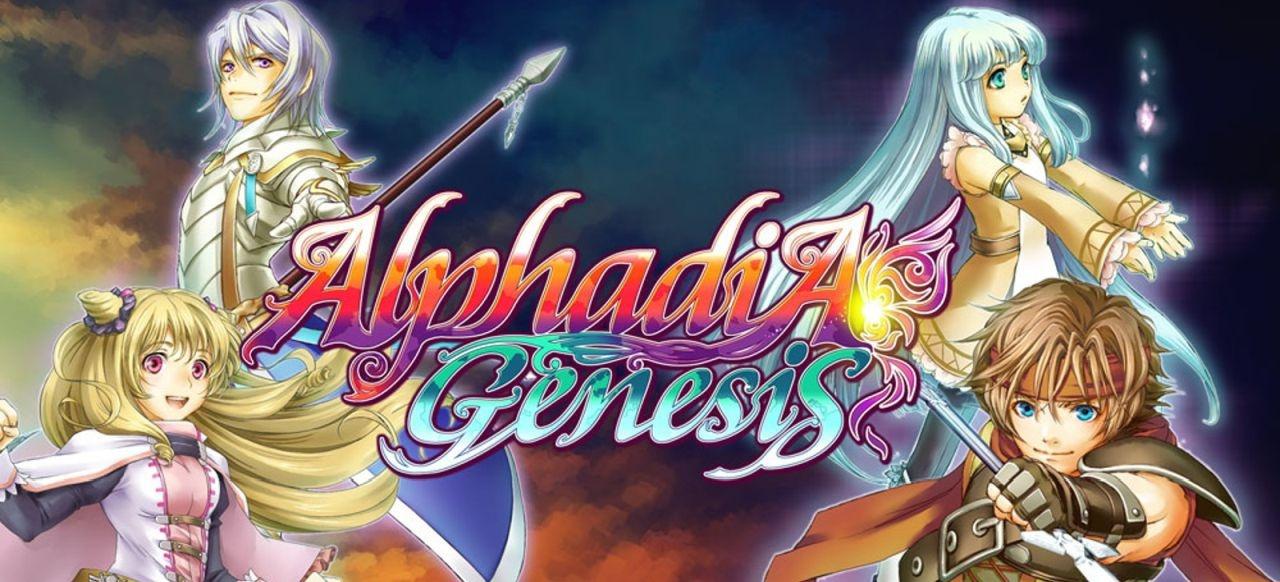 Alphadia Genesis (Rollenspiel) von Kemco