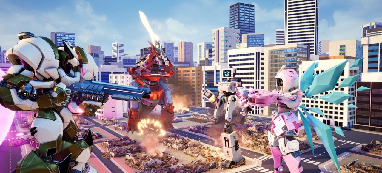 Override: Mech City Brawl (Action) von Modus Games