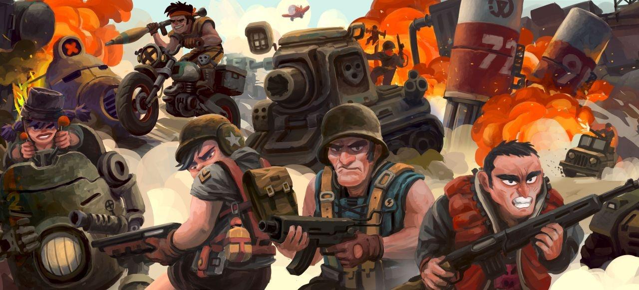 Veterans Online (Arcade-Action) von Nuked Cockroach