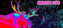 Moose Life: Jeff Minter kündigt Arcade-Shooter im Elch-All mit buntem Partikelregen an