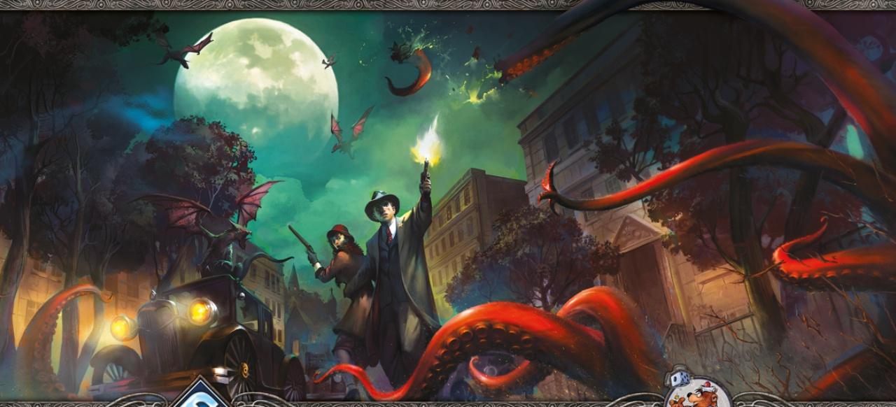 Arkham Horror: Das Kartenspiel (Brettspiel) von Asmodee / Heidelberger