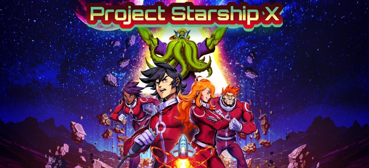 Project Starship X (Arcade-Action) von Panda Indie Studio / eastasiasoft