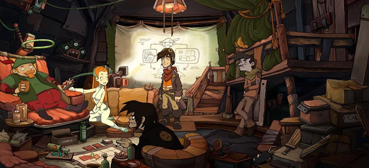 Chaos auf Deponia (Adventure) von Daedalic