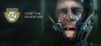 """Star Citizen: Squadron 42: Video: Umgebungen, Raumschiffe und Stationen im """"Visual Teaser"""""""