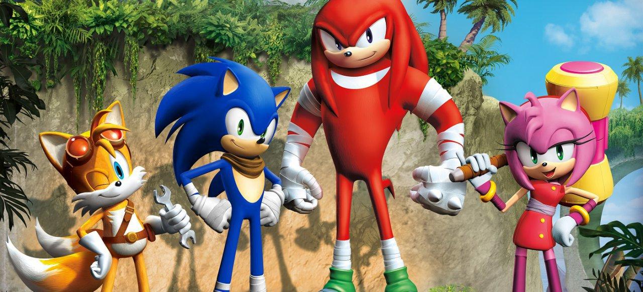 Sonic Boom: Lyrics Aufstieg (Plattformer) von Nintendo / SEGA