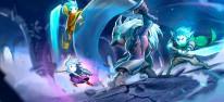 Greak: Memories of Azur: Team17 kündigt offenen Puzzle-Plattformer mit drei spielbaren Figuren an