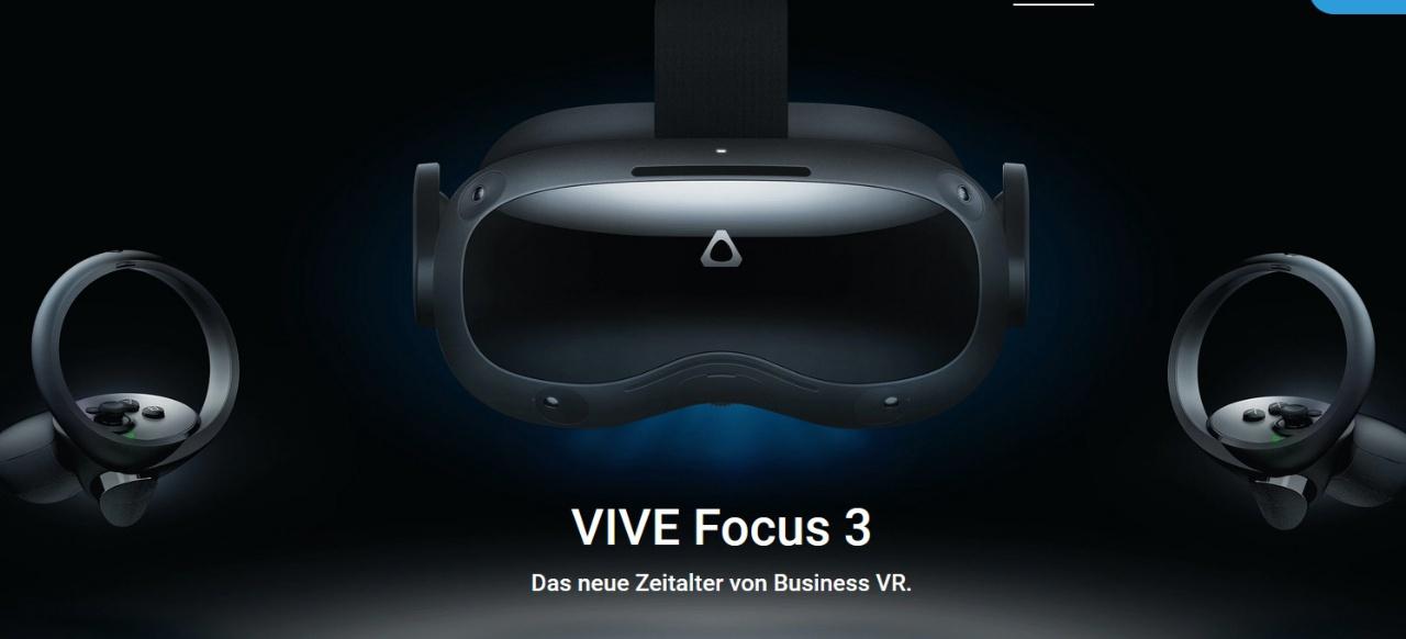 HTC Vive Focus 3 (Hardware) von HTC