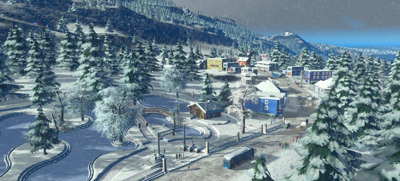 Cities: Skylines - Snowfall (Taktik & Strategie) von Paradox