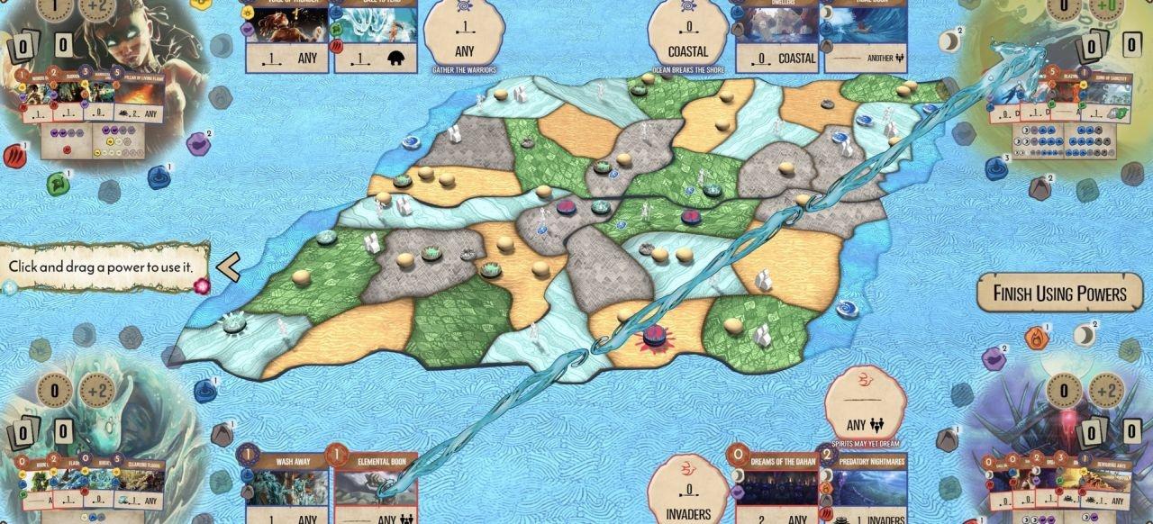 Spirit Island (Taktik & Strategie) von Handelabra Games