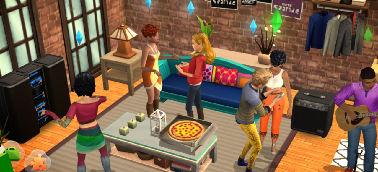 Die Sims Mobile (Simulation) von Electronic Arts